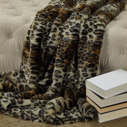Plutus Brands Wild Leopard PBEZ17786090TC Sofa Accessory, PBEZ1778