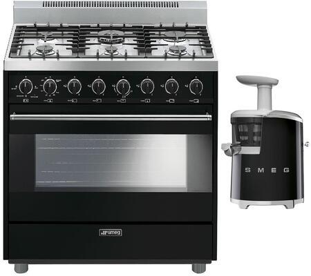 Smeg 891090 Kitchen Appliance Package & Bundle Black, 1