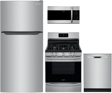 Frigidaire  1308063 Kitchen Appliance Package Stainless Steel, Main image