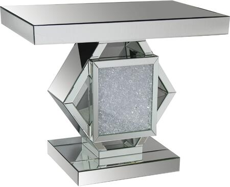 Acme Furniture Nowels 90234 Console Silver, Console Table