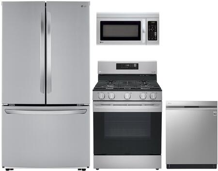 LG 1101104 Kitchen Appliance Package & Bundle Stainless Steel, main image