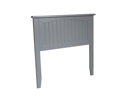 Atlantic Furniture Nantucket AR282829 Headboard Gray, AR282829 SILO 30