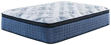 Mt Dana Euro Top Collection M62331 Queen Mattress with High-Density Quilt Foam and Wrapped Coil Unit and Euro Top Comfort Level in
