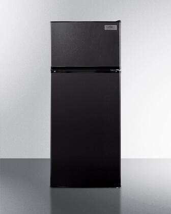 Summit  FF1119BIM Top Freezer Refrigerator Black, Main Image