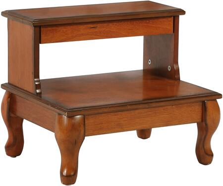 Powell Antique Cherry 961535 Bed Storage Drawer Brown, Main Image