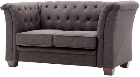 Glory Furniture G325L Loveseat Gray, 1
