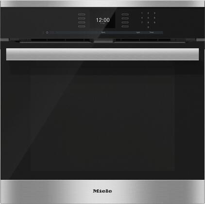 Miele SensorTronic H6660BP Single Wall Oven Stainless Steel, Main Image