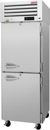 PRO-26-2R-PT-N 29″ Pro Series Solid Half Door Pass-Thru Refrigerator with 26.27 cu. ft. Capacity  Self-Cleaning Condenser  Digital Temperature
