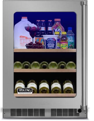 Viking 5 Series VBUI5240GLSS Beverage Center Stainless Steel, Main Image