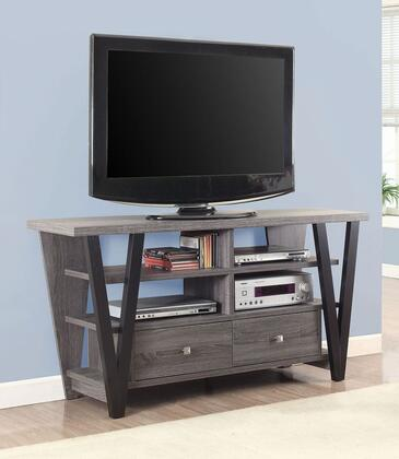 Coaster  701015 52 in. and Up TV Stand Gray, Main Image
