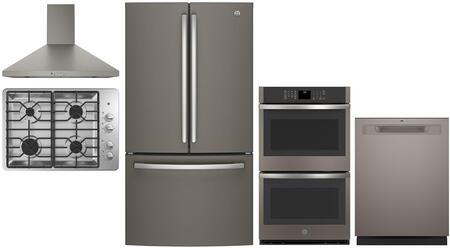 GE  1145153 Kitchen Appliance Package Slate, main imag
