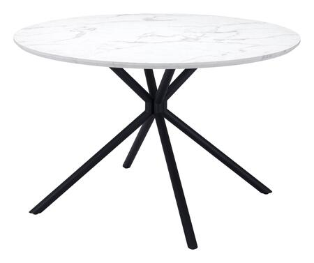 Zuo Amiens 101879 Dining Room Table White, 101879 1