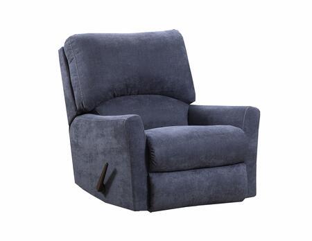 Lane Furniture Pacific U25319PACIFICSTEELBLUE Recliner Chair Blue, Recliner