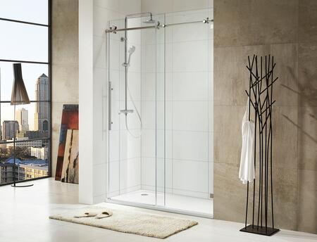Paragon Bath TRIDENT LUX 0ASBS03L Shower Door, Image 1
