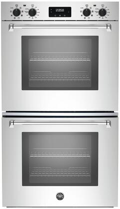 Bertazzoni Master MASFD30XV Double Wall Oven Stainless Steel, MASFD30XV  30 Double Convection Oven