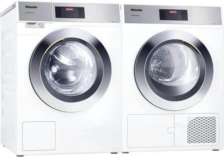 Miele Little Giants 1418902 Washer & Dryer Set White, Main image