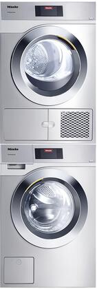 Miele Little Giants 1310872 Washer & Dryer Set Stainless Steel, Main image