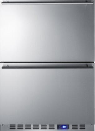 Summit  FF642D Drawer Refrigerator Stainless Steel, Stainless Steel