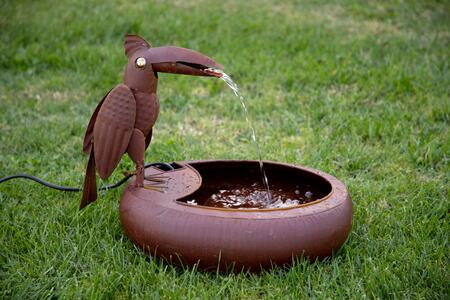 Alpine  NCY358 Water Fountain Brown, Fountain