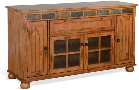 2728RO2 Sedona Counter Height TV Console  in Rustic