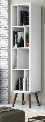 Ideaz International 23605WS Bookcase White, Main Image