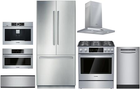 Bosch Benchmark  1168253 Kitchen Appliance Package & Bundle Stainless Steel, main image
