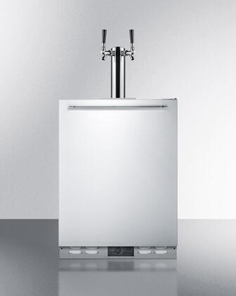 Summit  SBC590OS Beer Dispenser Stainless Steel, Main Image