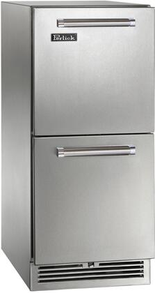 Perlick Signature HP15RO35 Compact Refrigerator Stainless Steel, Main Image