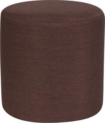 Flash Furniture Barrington QYS1050011BRNGG Living Room Ottoman Brown, QYS1050011BRNGG
