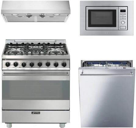Smeg 890340 Kitchen Appliance Package & Bundle Stainless Steel, main image