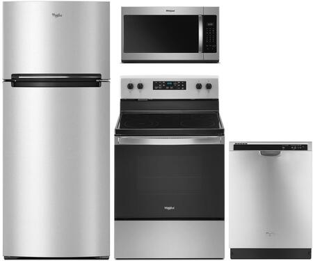 Whirlpool  975155 Kitchen Appliance Package Stainless Steel, Main image