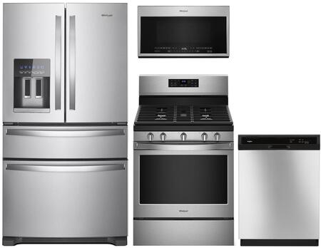 Whirlpool 1125698 Kitchen Appliance Package & Bundle Stainless Steel, main image