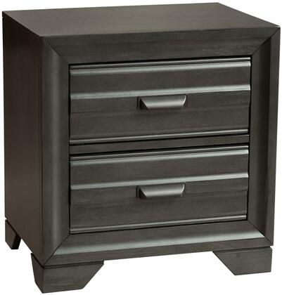 Myco Furniture Eddison ED530N Nightstand Gray, 1