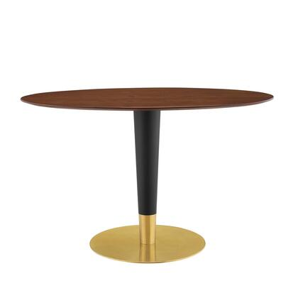 Modway Zinque EEI5142GLDWAL Dining Room Table Brown, EEI 5142 GLD WAL 1