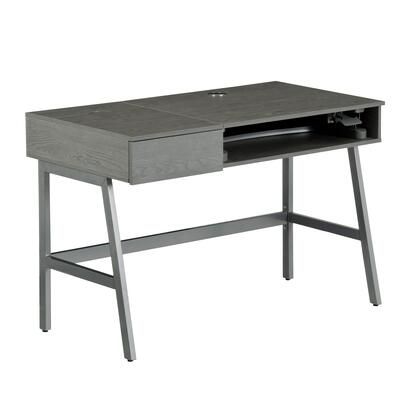 RTA-3841SU-GRY Pneumatic Height Adjustable Standing Desk  in