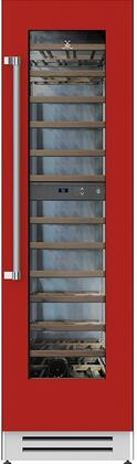 Hestan  KWCR24RD Wine Cooler 51-75 Bottles RED, 1