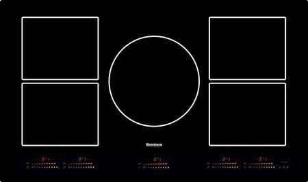 Blomberg  CTI36510 Induction Cooktop Black, Main Image