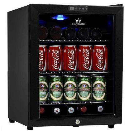 KingsBottle  KBU52BP Beverage Center Black, Main Image