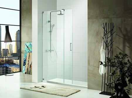 Paragon Bath Oasis-SBS48-P 0ASBS48P Shower Door, Image 1