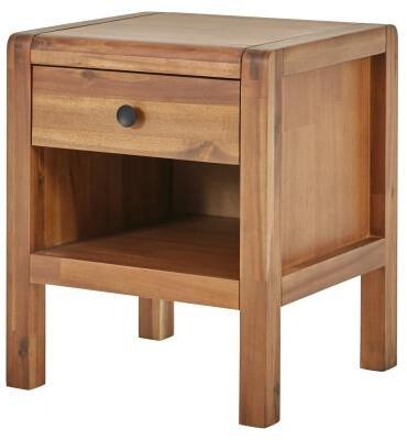 New Pacific Direct Sorrento 8000043 Nightstand Brown, 8000043-Main View