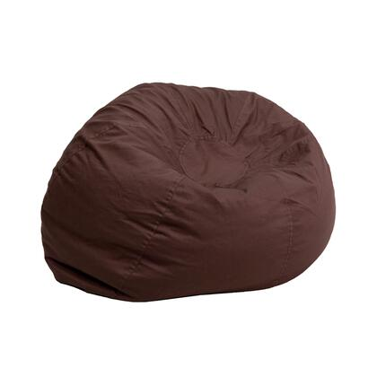 Flash Furniture DGBEAN DGBEANSMALLSOLIDBRNGG Bean Bag Chair Brown, DGBEANSMALLSOLIDBRNGG