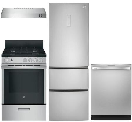 GE 999701 Kitchen Appliance Package & Bundle Stainless Steel, main image