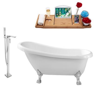 Streamline NH480CH140 Bath Tub, NH480CH 140 1T