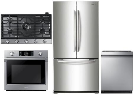 Samsung  1011257 Kitchen Appliance Package Stainless Steel, main image