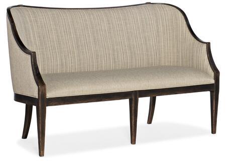 Hooker Furniture La Grange 69605000889 Loveseat Beige, Silo Image
