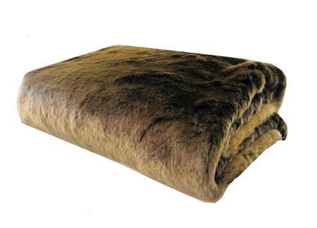 Plutus Brands Tissavel Volga Rabbit Faux Fur PBSF1446108X90T Sofa Accessory, PBSF1446