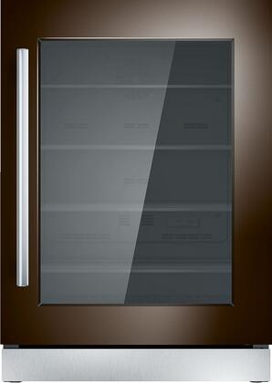Thermador  T24UR900RP Compact Refrigerator Panel Ready, T24UR900RP 24-Inch Under-Counter Glass Door Refrigerator