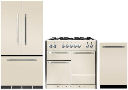 AGA  880588 Kitchen Appliance Package Bisque, Main image