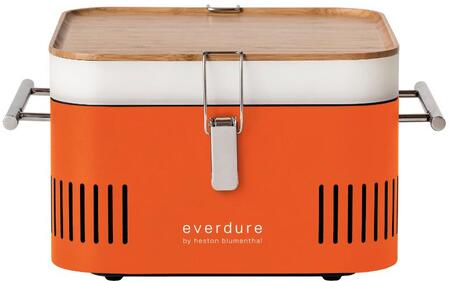 Everdure HBCUBEOUS Charcoal Grill Orange, 1