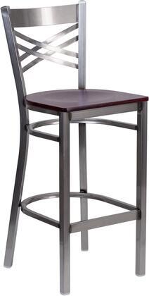 Flash Furniture Hercules XU6F8BCLRBARMAHWGG Bar Stool Brown, 1